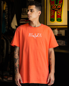 CAMISETA BLAZE SUPPLY LEAF ORANGE - BLZ0308