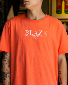 CAMISETA BLAZE SUPPLY LEAF ORANGE - BLZ0308 - comprar online