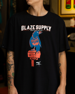 CAMISETA BLAZE SUPPLY BADAUI CROW BLACK - BLZ0315 - comprar online