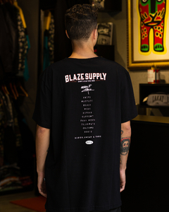 CAMISETA BLAZE SUPPLY BADAUI CROW BLACK - BLZ0315 na internet