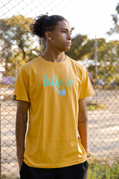 CAMISETA BLAZE SUPPLY SMOKE YELLOW - BLZ004