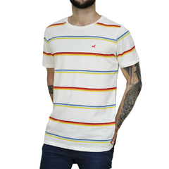Remera Sailing Stripes - Código 10041-5 - Mistral