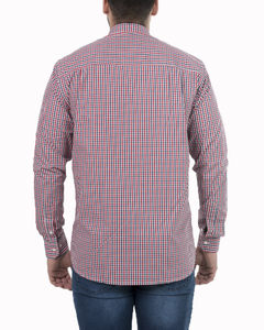 Camisa Camisa Boris Checks Regular ML - Código 35031-3 - Mistral
