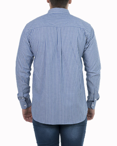 Camisa Camisa Boris Stripe Regular ML - Código 35023-4 - Mistral