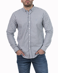 Camisa Camisa Boris Stripe Regular ML - Código 35023-5