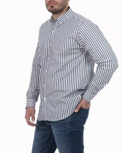 Camisa Camisa Boris Stripe Regular ML - Código 35023-5 en internet