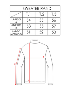 Sweater Rand - Codigo 44091 en internet