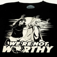 """We're not Worthy! "" Playera edición limitada en internet"