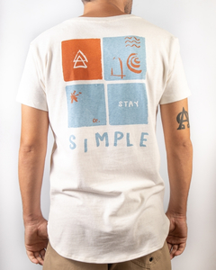 T-SHIRT LONG STAY SIMPLE - comprar online