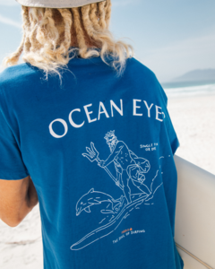 T-SHIRT LONG OCEAN EYES