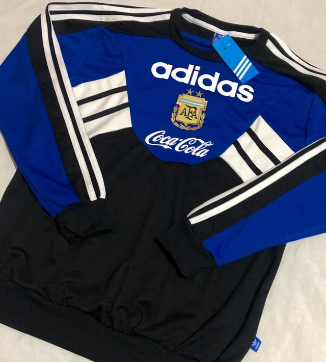 Ministerio añadir Corrupto  Buzo Adidas Retro de Argentina 1994