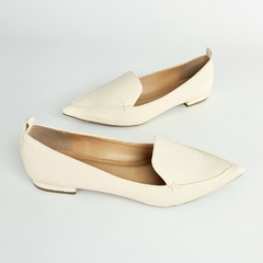 Sapatilha Delotto Loafer Floater Off White