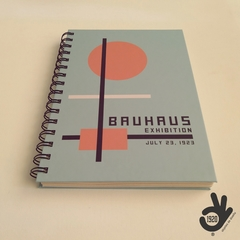 Agenda Bauhaus Tapa Dura Ring Wire/ Modelo 6: ORANGE CIRCLE - comprar online