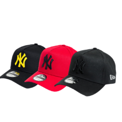 KIT 3 BONÉS NEW YORK YANKEES 940 - NEW ERA
