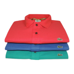 KIT 3 POLOS LACOSTE