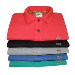 KIT 3 POLOS LACOSTE - comprar online