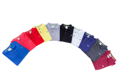 KIT 10 POLOS LACOSTE