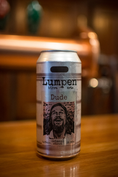 Six pack 437ml Lumpen - Dude (Oatmeal Stout)