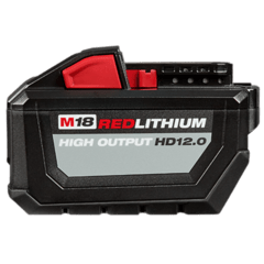 Bateria De Litio 18v 12 Ah Milwaukee M18 Red Lithium Hd12.0