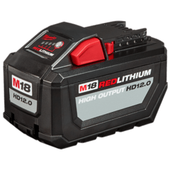 Bateria De Litio 18v 12 Ah Milwaukee M18 Red Lithium Hd12.0 - comprar online