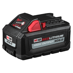 Bateria De Litio 18v 6,0 Ah Milwaukee M18 Red Lithium Hd12.0