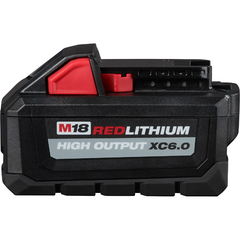 Bateria De Litio 18v 6,0 Ah Milwaukee M18 Red Lithium Xc6.0