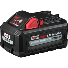 Bateria De Litio 18v 6,0 Ah Milwaukee M18 Red Lithium Xc6.0 - comprar online