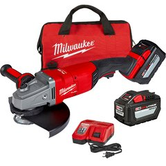 Amoladora 18v 12ah Milwaukee 2785-259hda 180-230mm + Bolso