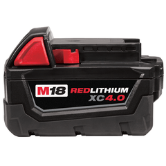 Bateria 18v 4,0ah Milwaukee M18 Red Lithium - comprar online