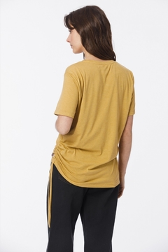 Remera Oversize Ruched (John L. Cook) en internet