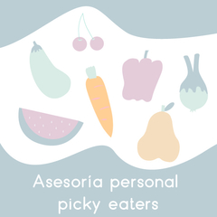 Asesoria personal picky eaters y hábitos saludables - comprar online