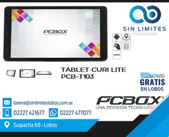 "TABLET PCBOX CURIi 10.1"" 16GB/RAM 1GB"