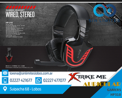 Auriculares Gamer Headset C/mic Hp-310 Ps4 Pc Xbox