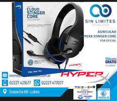 AURICULARES GAMERS HyperX Cloud Stinger Core PC/PS4/XBOX ONE/MAV/MOBILE/NITENDO SWITCH