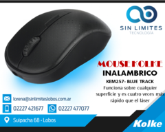 Mouse Inalambrico Kem-257 Kolke Mouse Bluetrack