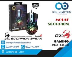 Mouse Gamer Gx/Genius Scorpion Spear 6 Botones Pc Ntb