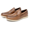 Loafer Lord Byron Casual  Couro Cor: Havana 9400 - comprar online