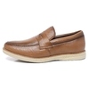 Loafer Lord Byron Casual  Couro Cor: Havana 9400 na internet