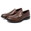 Loafer Lord Byron Casual Couro Cor: Café 9400 - comprar online