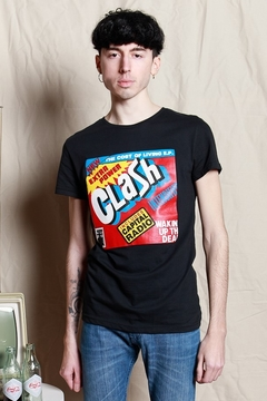 REMERA THE CLASH POWER - comprar online