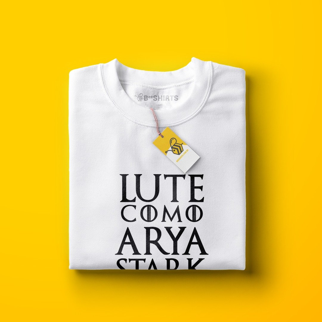 Lute Como Arya Stark - Game of thrones