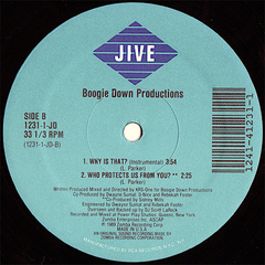 Boogie Down Productions ‎– Why Is That? - Vinil - Promo Only Djs