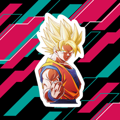 Sticker Dragon Ball Z - Goku SSJ