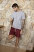 SHORTS SARJA VINHO - Relaxed Shorts