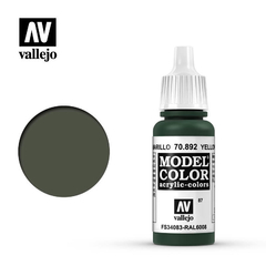 Vallejo Model Color 87 Yellow Olive Fs34083 Ral6008