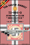 Far South Models 1/72 72-901-3 Ju53/3m Immelmann Ll Lufthans