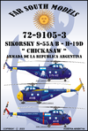 Far South Models 1/72 72-9105-3 Sikorsky S-55a/b-h19d Chicka