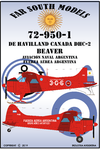 Far South Models 1/72 72-950-1 De Havilland Canada Dhc-2