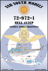 Far South Models 1/72 72-972-1 Bell 412ep F. Aerea Argentina