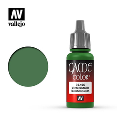 Vallejo Game Color 72105 Verde Mutante / Mutation Green